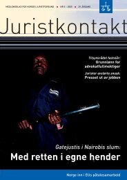 Juristkontakt 5 • 2005