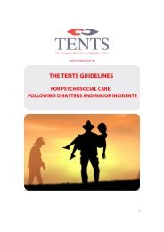 TENTS guidelines - European Society for Traumatic Stress Studies