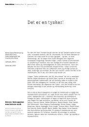 Det er en tysker! - Historie-nu.dk