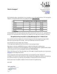 Pressemeddelelse 02.01.2013