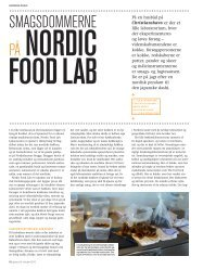 SmagSdommerne - Nordic Food Lab