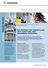 Download seneste udgave af vores nyhedsbrev - Norisol