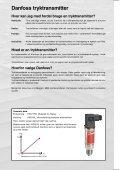 Vejviser tryktransmitter - Danfoss - Page 2