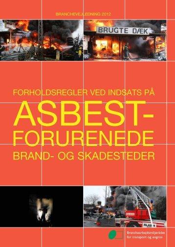 Asbestforurenede brand- og skadesteder - BAR transport og engros