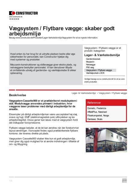Download - Constructor Danmark A/S