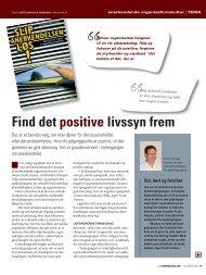 Find det positive livssyn frem - Perspektivgruppen