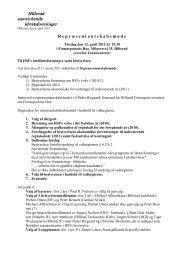 Repræsentantskabsmøde 2. udg. 12.04.2011 - Hillerød ...