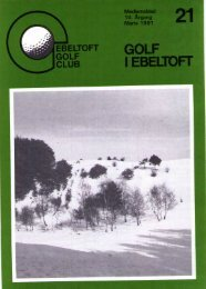 golfere - Ebeltoft Golf Club