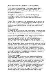 Årets Pressefoto 2012/13 åbnet og vinderne kåret - Spinderihallerne