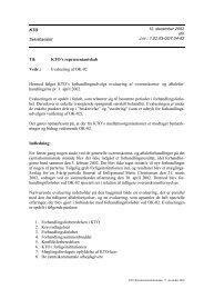 Overenskomstfornyelse 2002: Aftaletekster og bilag - KTO
