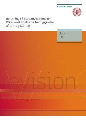 Hent beretningen her (pdf) - Rigsrevisionen