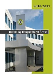 2010-2011 - Boligkontoret Aarhus