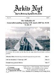 25 2007-1 (PDF) - Vinderup Egnshistoriske Forening