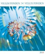 Årsskrift 2010 (10 MB) - Velux fondene