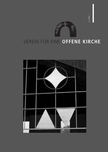 Fenster Umbruch 2/2004 - offene Kirche