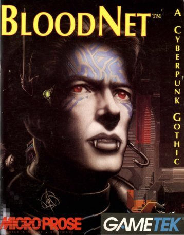 Blood Net - Museum of Computer Adventure Game History
