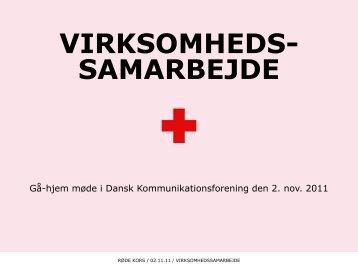 Røde Kors - Dansk Kommunikationsforening