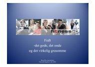 Fedt - Mette Riis Kost og Motion