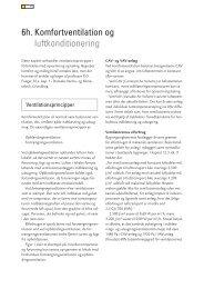 6h. Komfortventilation og luftkonditionering - Energiforum Danmark