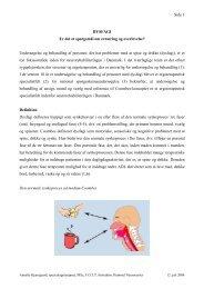 Side 1 DYSFAGI Er det et spørgsmål om ernæring og overlevelse ...