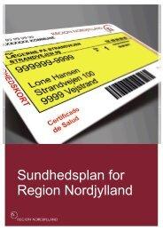 Sundhedsplan 2012 - Region Nordjylland