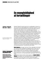 En mangfoldighed af fortællinger - Historie-nu.dk