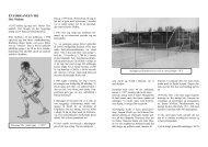 Læs Oves egen beretning om sin ... - Herlev Tennisklub