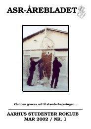 Årebladet 02.1 (fylder 1.36mb) - ASR - Aarhus Studenter Roklub