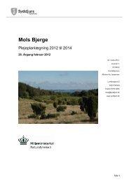 Plejeplan 2012 - 2014 - Mols Bjerge Fredning