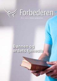 Bønnen og ordets tjeneste - Bønnetjenesten for Norge