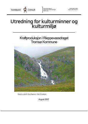Kulturminner - Troms Kraft