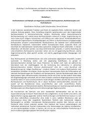 Programm des Workshops 1 als PDF