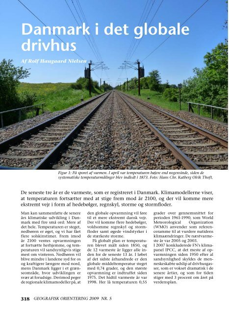 Danmark i det globale drivhus - DMI