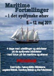 program maritime fortællinger .pub - Svendborg Bibliotek