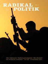 RADIKAL POLITIK 4-2008.indd - Radikale Venstre