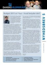 Nyhedsbrev 5, 2010 - Danske Ældreråd