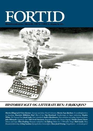 Historiefaget og litteraturen: f(r)iksjon? - Fortid
