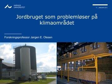 Jordbruget som problemløser på klimaområdet ... - LandbrugsInfo