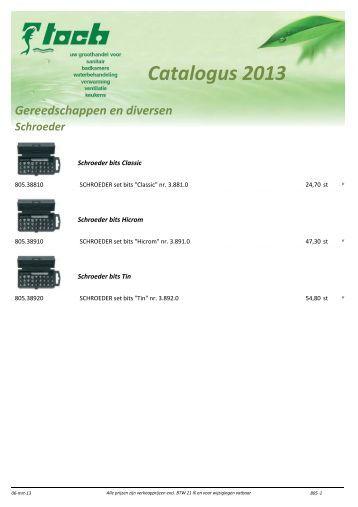 Catalogus 2013