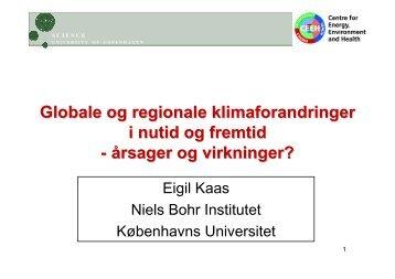 Niels Bohr Institutet, Eigil Kaas - Bygherreforeningen