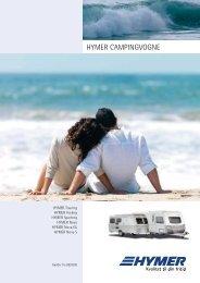 HYMER CAMPINGVOGNE - Campingferie.dk