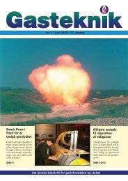 Gasteknik nr. 3, juni 2003 [PDF] - Dansk Gas Forening