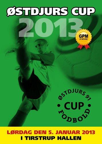 øsTdjurs Cup - Indefodbold.dk
