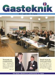 Gasteknik nr. 2, april 2003 [PDF] - Dansk Gas Forening