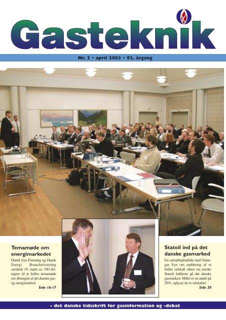 Gasteknik nr. 2, april 2003 [PDF] - Dansk Gas Forening