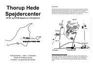 Thorup Hede Spejdercenter - Velkommen til Spejdercentret Thorup ...