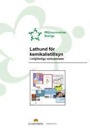 Lathund för kemikalietillsyn - Miljösamverkan Sverige