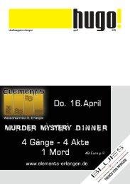 April - Stadtmagazin Hugo