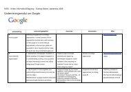 Undervisningsmodul om Google. - Dansk Skoleforening for Sydslesvig