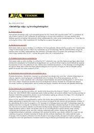 Salgs og leverings betingelser - JAC-Teknik Aps